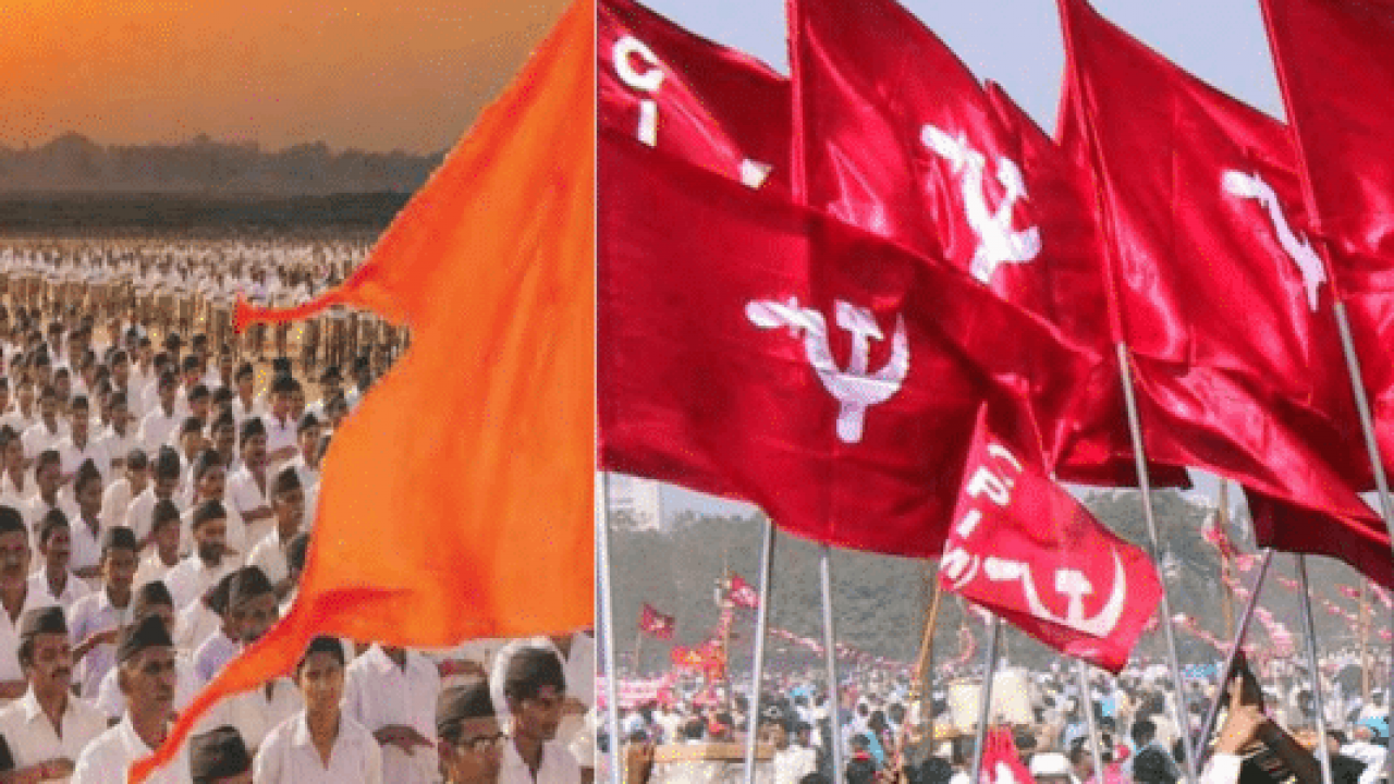cpim rss both fight against covid19 in kerala