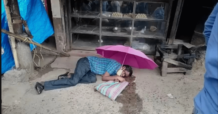a-man-died-while-hopping-in-sheoraphuli-markect-hooghly-west-bengal