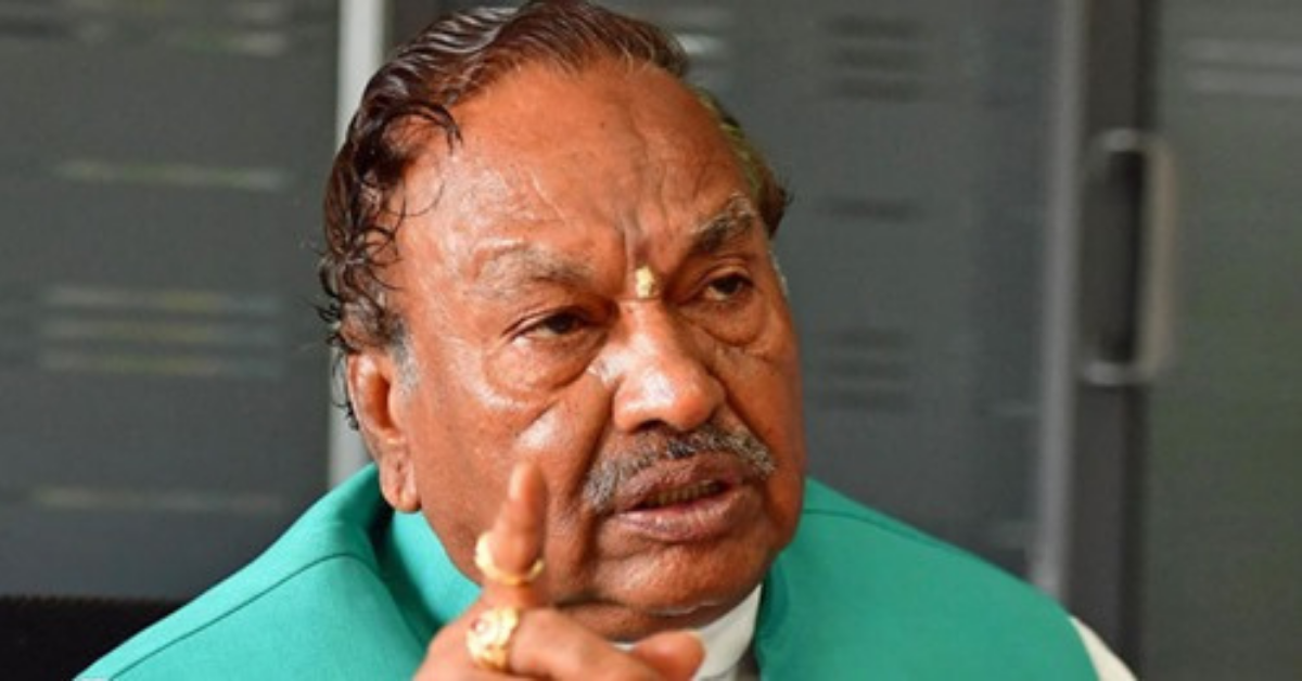 bjp-minister-ishwarappa-announces-muslim-will-be-given-a-ticket-to-vote